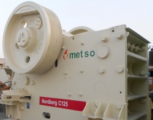 Metso Nordberg C125 C'Series Jaw Crusher