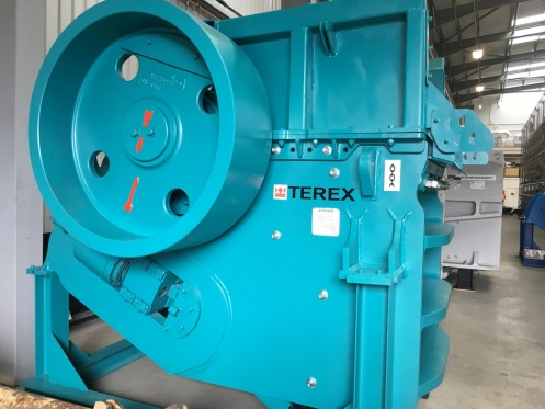 Terex® Pegson XR400s Static Single Toggle Jaw Crusher